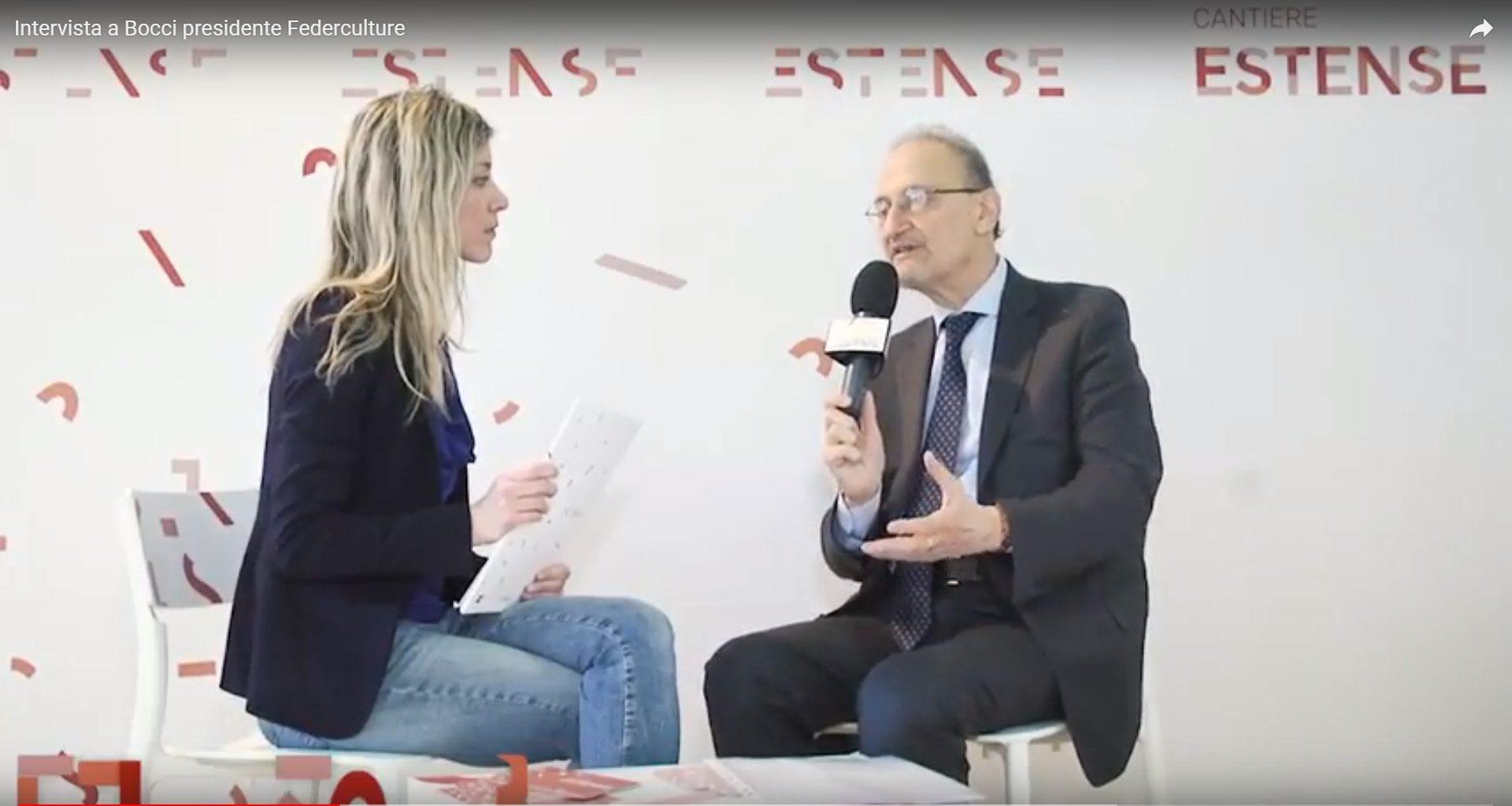 Modelli di governance. <br> L'intervista a Claudio Bocci, presidente di Federculture