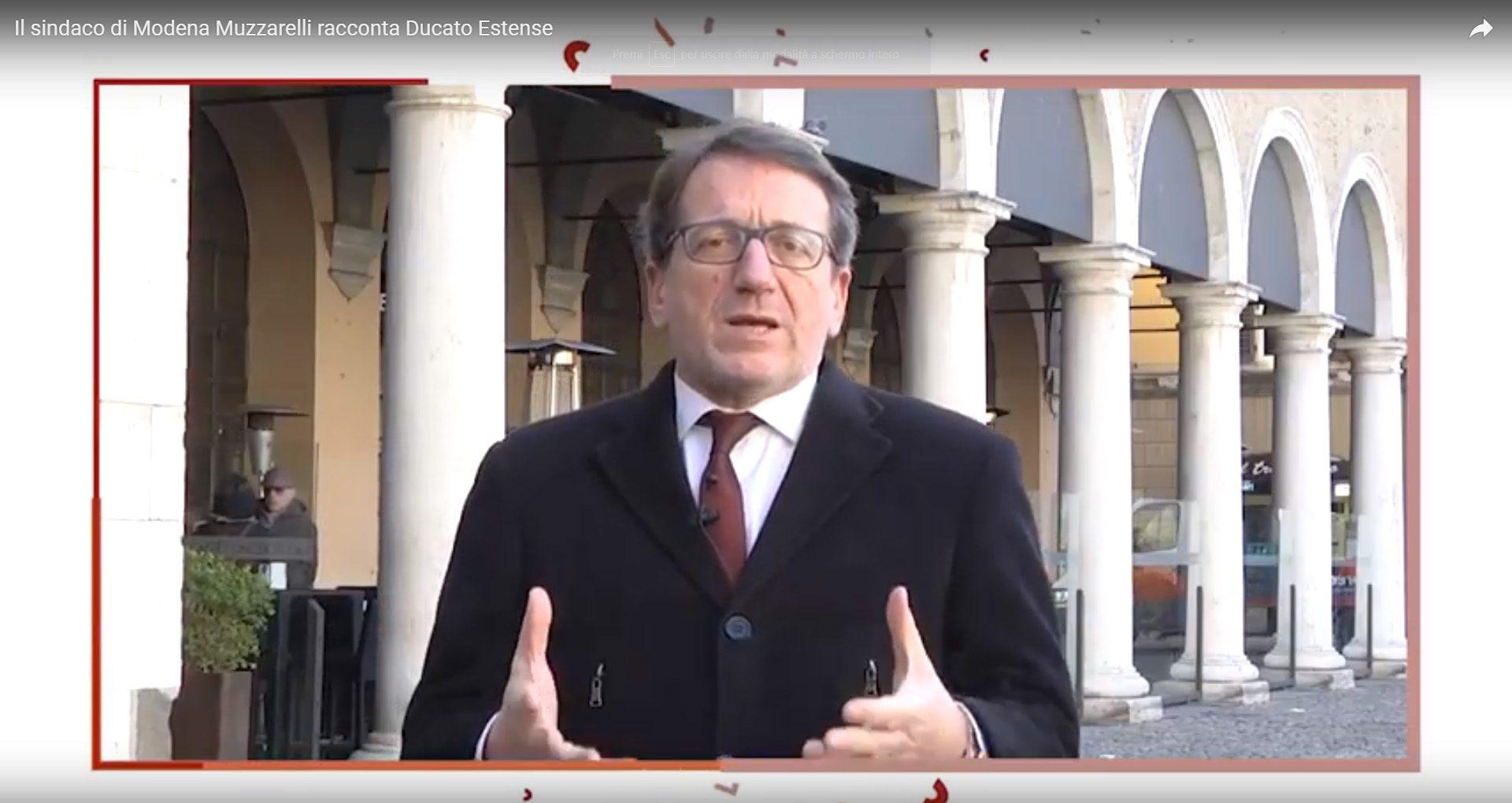 Il sindaco di Modena Gian Carlo Muzzarelli <br> racconta il progetto Ducato Estense