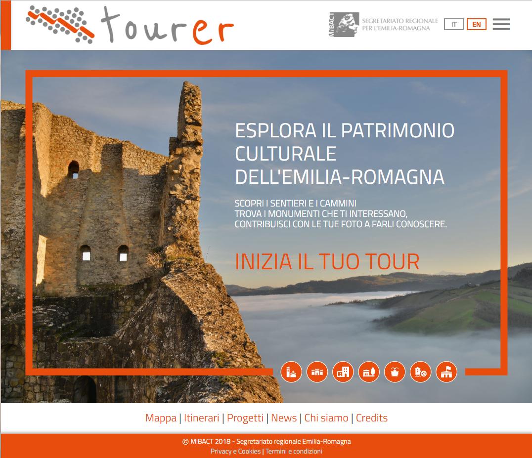 In viaggio con tourer.it, il portale per scoprire il patrimonio culturale dell'Emilia-Romagna