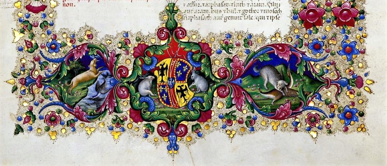 La Bibbia di Borso d'Este in mostra a Ferrara