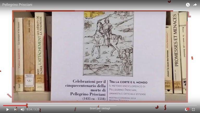 Prisciani nelle parole delle Prof.sse Loredana Chines e Paola Vecchi
