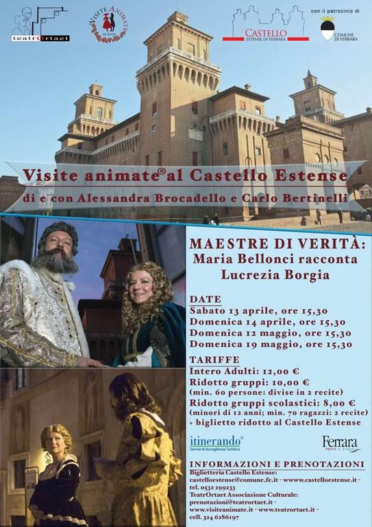 Visite animate al Castello Estense