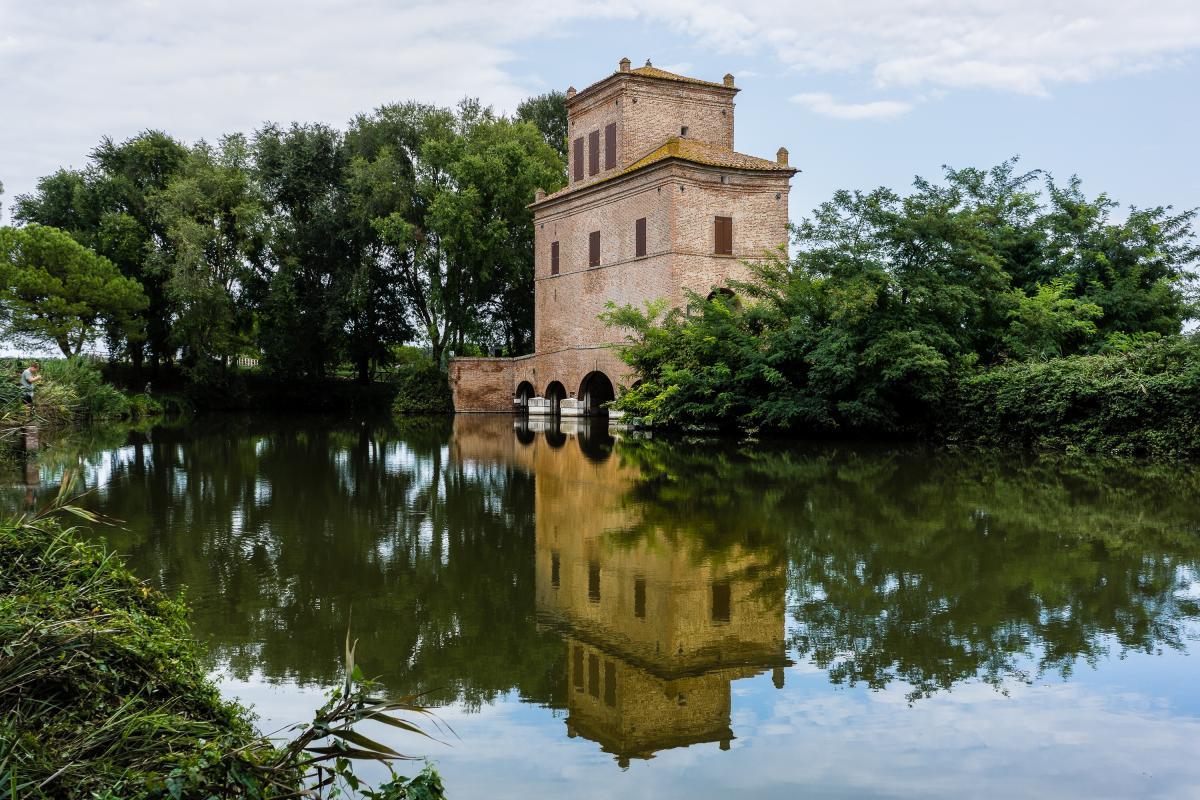 #TerredelDelta. Torre Abate, il simbolo di un progetto idraulico eccezionale a difesa della Grande Bonificazione Ferrarese