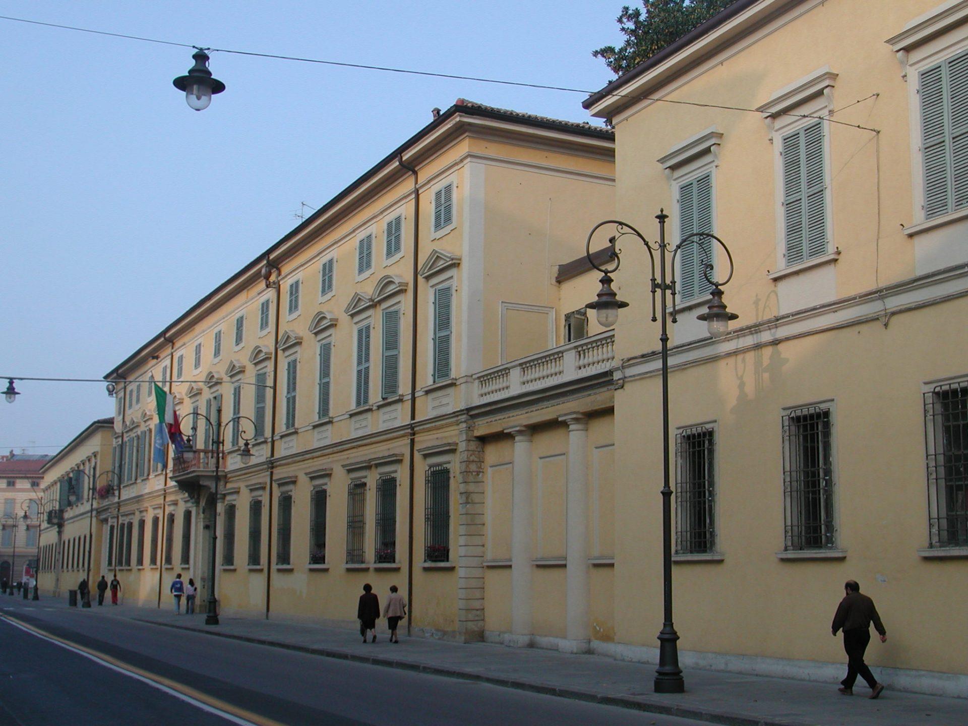 #PalazziDucali. Palazzo Ducale di Reggio Emilia, la sede reggina del duca Francesco IV