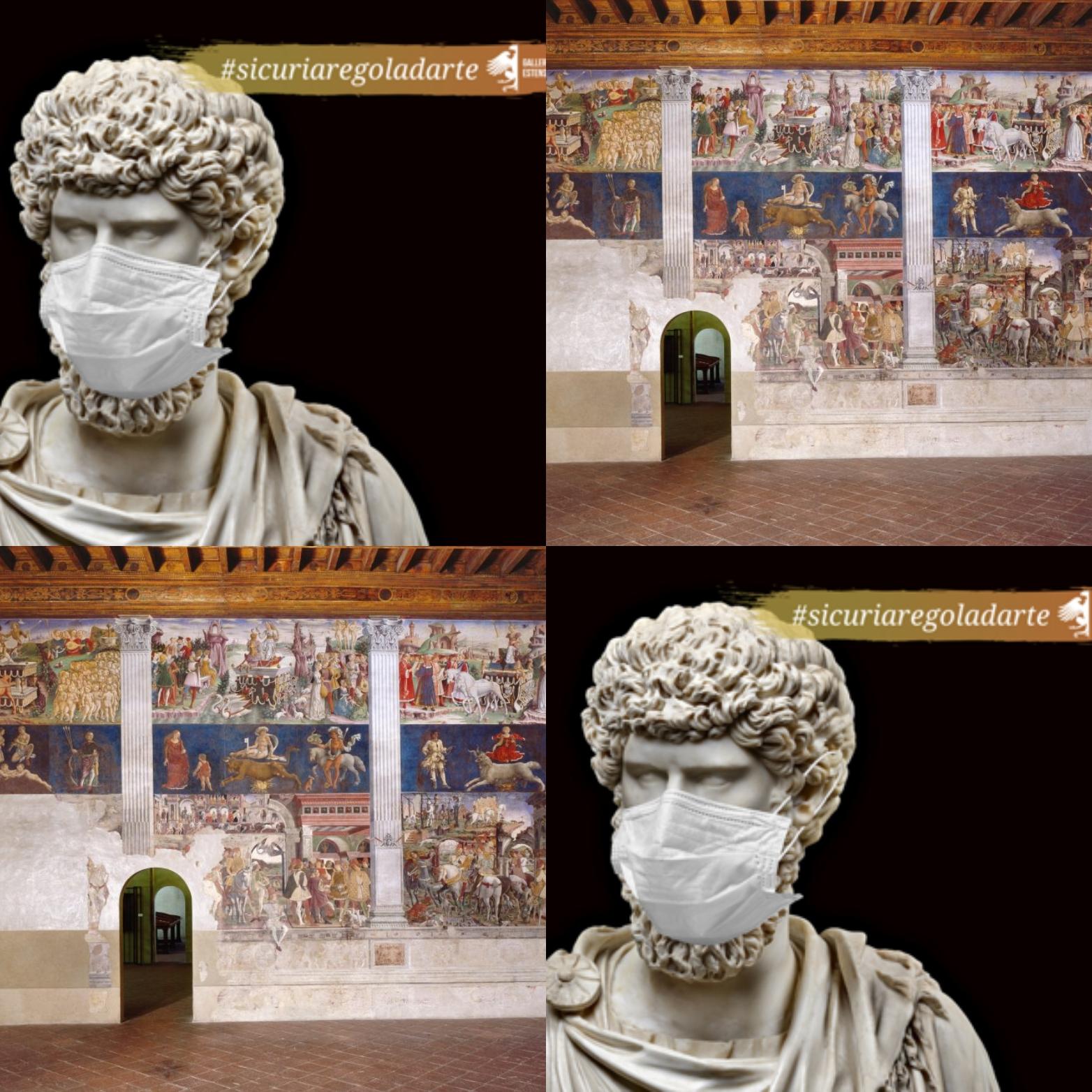 Le riaperture di domani: le Gallerie Estensi e Palazzo Schifanoia