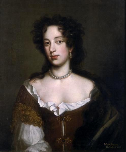 Donne di Casa d'Este. Maria Beatrice d'Este: la cattolica Regina Mary of Modena.